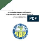 Manual de Practicas de Bioquimica Medica y Aplicada Modelo Viejo