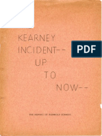 THE KEARNEY INCIDENT -- UP TO NOW, The Report of Reinhold Schmidt