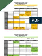 Horario Asesorias MATE 2015