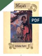 Johanna Spyri - Hajdi