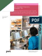 Boletín Actualidad Corporativa N° 5 - Medios distintos para la emisión de facturas y otros documentos