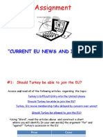 current event assignment on eu and turkey