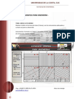 Taller 1- 2015 - Lineas a Escuadras AUTOCAD MANUAL