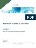 Tech trends Latin America