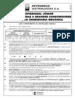 PROVA 24 - PROFISSIONAL JÚNIOR - ÊNFASE EM VENDAS A GRANDES CONSUMIDORES - FORMAÇÃO - ENGENHARIA MECÂNICA