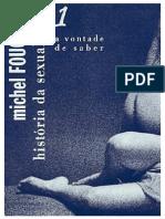 Foucalt - A história da Sexualidade VL I.pdf