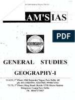 SRIRAM_S IAS  Geography Booklet for General Studies  Prelims+Mains