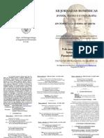 Programa XII Jornadas Homéricas 2015