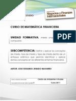 Interes Simple y Compuesto - Matematicas Financiera