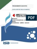 PE-MACO-FERT-P21 Procedimiento Para Instalación de Cuellos Muertos