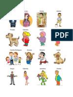Sustantivos Propios y Comunes - Con Imagenes