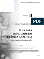 Guia para qualidade em química analítica
