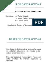 Bases de Datos Activas