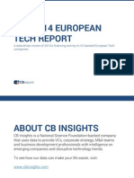2014 European Tech Report