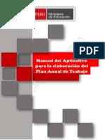 Manual Para La Elaboración Del Plan Anual de Trabajo