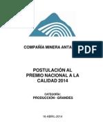 Informe de Postulación PNC_Antamina_Confidencial