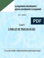 Limbaje programare