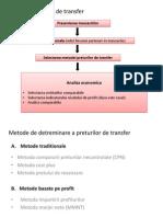 Analiza Preturilor de Transfer
