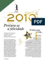 Matéria 10 ideias para ser feliz - Revista Regional