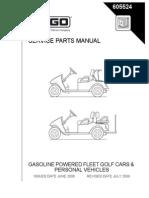 Manual de Servicio y Partes EZGO