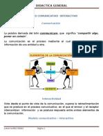 Modelo Comunicativo Interactivo