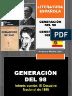 Generacion Del 98 y Del 27