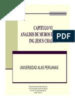 Capitulo Vi - Analisis de Muros de Corte2014b