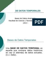 Bases de Datos Temporales - Clase 01