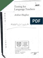 HUGHES - Testing for Language Teachers