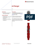 EFSB Instrument Hanger Technical Datasheet
