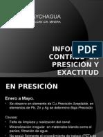 Informe de Control en Presición y Exactitud