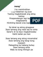 Ikaw Lamang