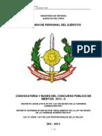 Convocatoria y Bases Para El Concurso Publico Dic-13