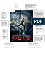 Inception Poster Analysis