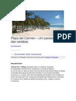 Playa del Carmen – Um paraiso no mar das caraibas