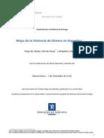 mapa de violencia de genero en Argentina - dic 2011