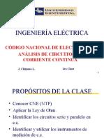 1ra Clase UC 2015 0 Ing.eléc