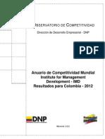Competitividad IMD 2012