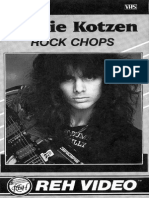 Richie Kotzen Rock Chops