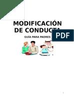 Modificacion de Conducta