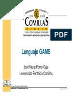 GAMS Presentación