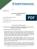 2014 CPNI Form DA-09-9A1 _SCC.doc