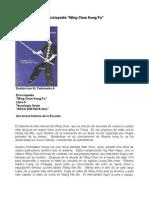 Enciclopedia de Wing Chun Kung Fu