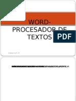 Word- Procesador de Textos
