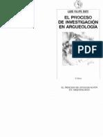BATE, L. El Proceso de Investigación en Arqueología. 1998 (Completo)