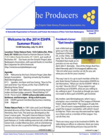 ESHPA Summer 2014 Newsletter