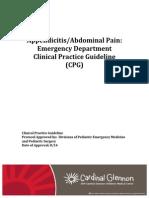 Appendicitis and Abdominal Pain