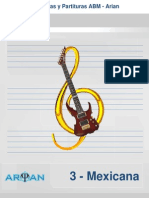 Selección de Tablaturas Para Guitarra - Música Méxicana