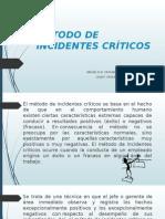Método de Incidentes Críticos