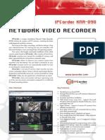 NETWORK VIDEO RECORDER DS_EN_KNR-090